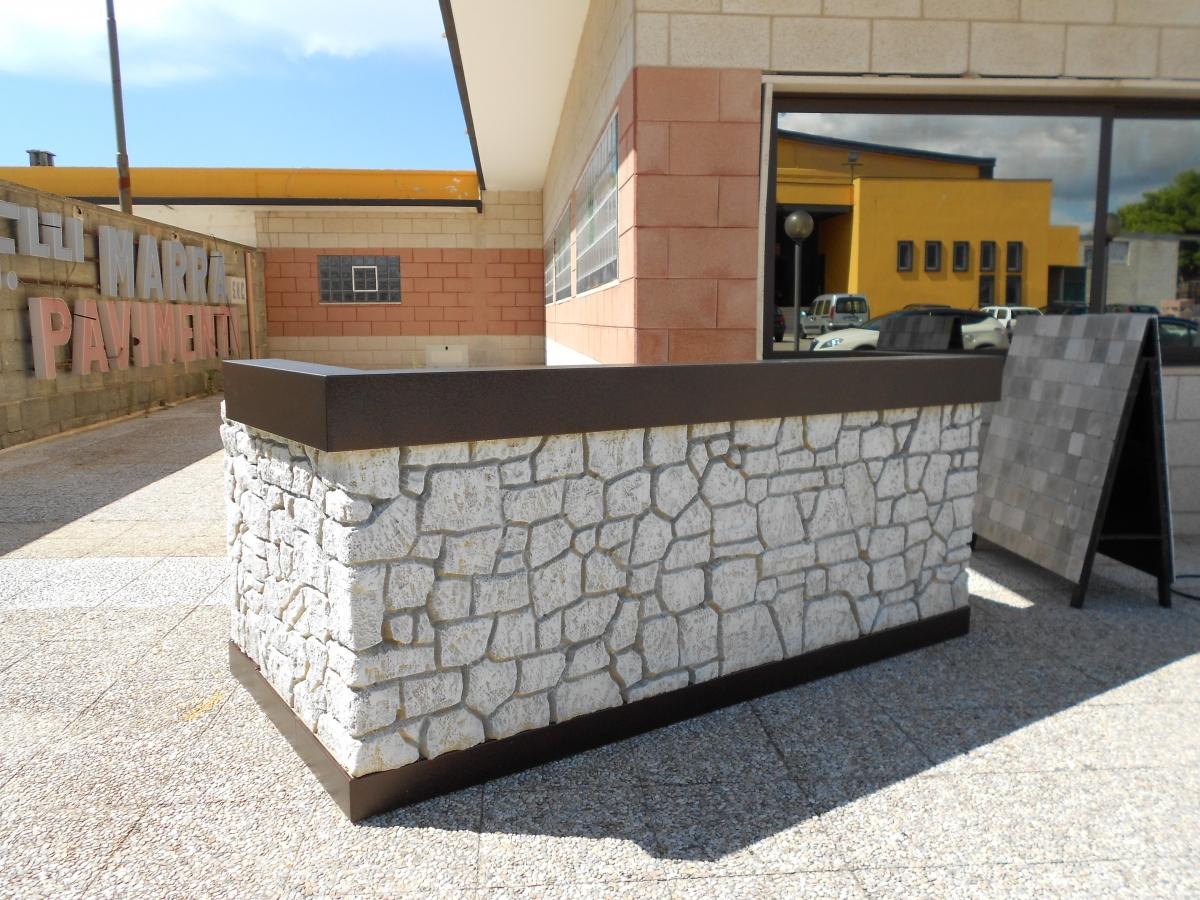 Arredamento esterno gelateria ispirazione design casa for Arredamento esterno usato