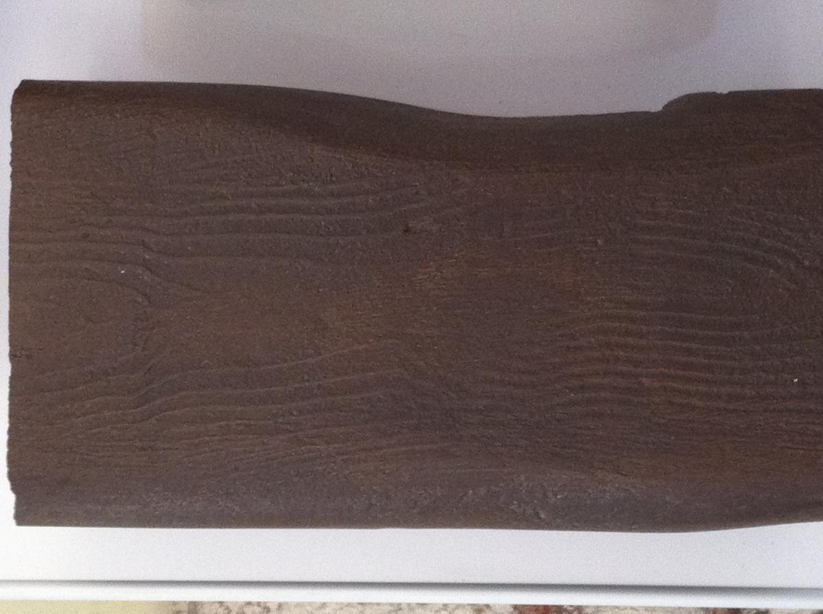 Travi polistirolo in finto legno